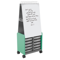 Cascade Spiral Noteboard Unit, Mint