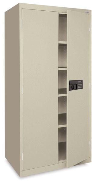Keyless Electronic Storage Cabinet