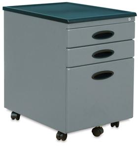 File Cabinet, Silver