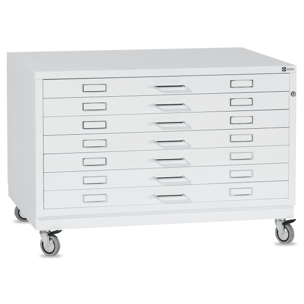 BF Line Flat File, White