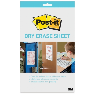 Super Sticky Dry Erase Surface, Sheet