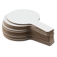 Single-Sided Dry Erase Answer Paddles, Pkg of 12