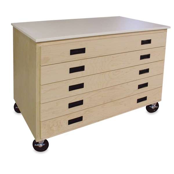 Mobile Paper Storage Cart