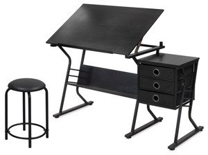 Eclipse Table & Stool Set