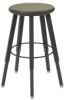 Solid Welded Stool, 5 Legs, Grey Nebula
