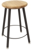 Solid Welded Stool, 4 Legs, Fixed