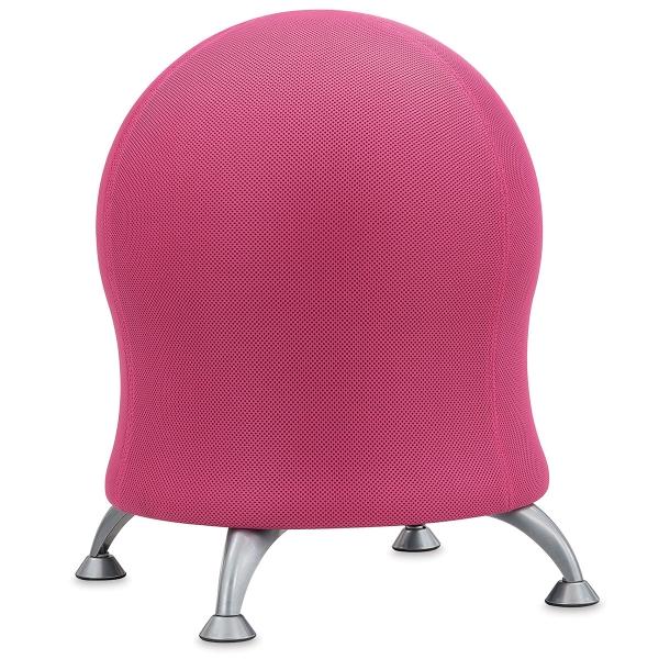 Safco Zenergy Ball Chair, Pink