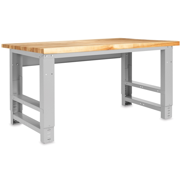 Adjustable Metal Workbench