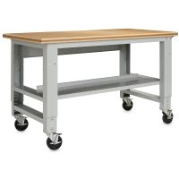 Adjustable Metal Workbench (Shelf and Castors sold separately)