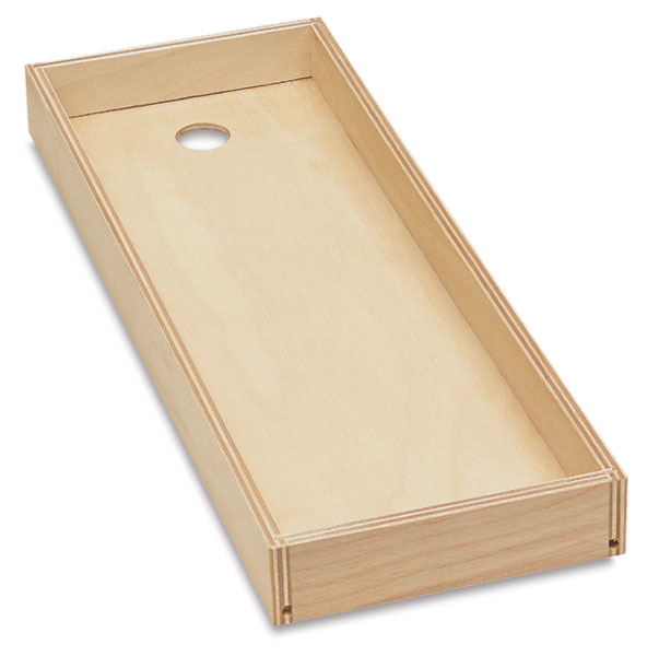 "Brush Tray, 4-1/2"" × 12"""