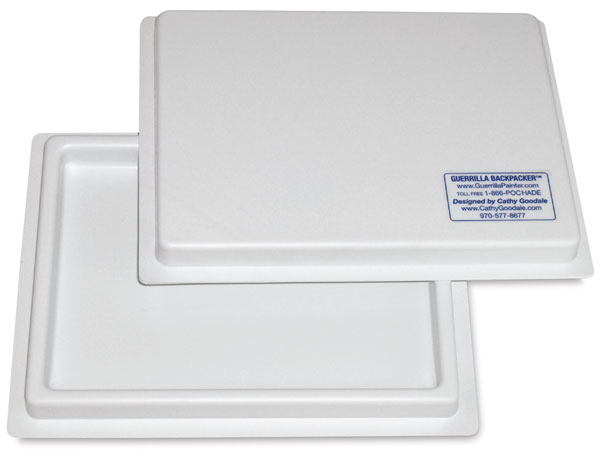 "Covered Palette Tray, 6"" × 8"""
