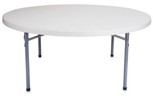 Folding Table, Round