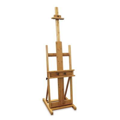 Pacific Arc Brazos Bamboo H-Frame Easel - BLICK art materials