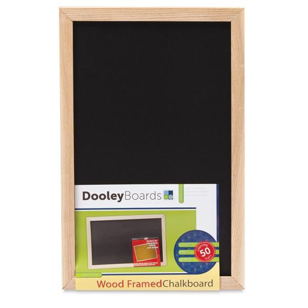 "Wood Frame Chalkboard, 11"" × 17"""
