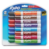 Dry Erase Low Odor Marker, Set of 16