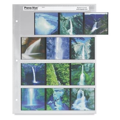 6 cm × 6 cm Transparency Sleeve