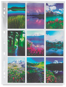 """120 Negative Sleeve <p>(Shown with 2½"""" &times 3½"""" images)</p>"""