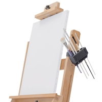 Rotating Brush Holder (Brushes and Easel Not Included)