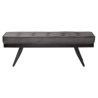 Parvis Bench, Charcoal