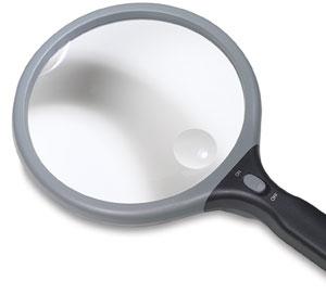 "5"" Lighted Bifocal Magnifier"