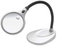 UltraOptix Desktop LED Magnifier