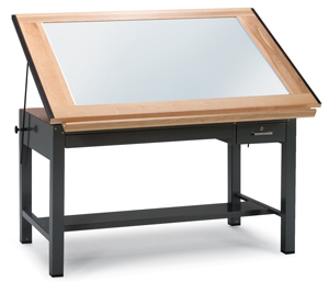 Perfect Ranger Steel Light Table, Gray