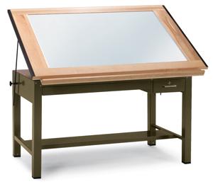 Ranger Steel Light Table, Sage