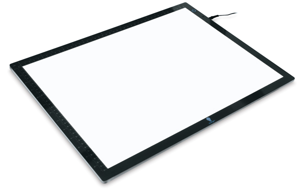 Wafer LED Light Box, Dimmable