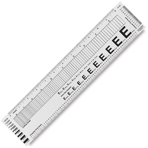 Flexible Typesetter's Ruler