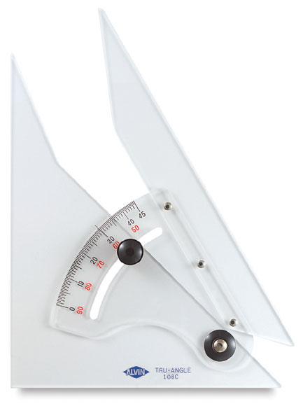Adjustable Protractor Triangle