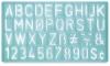 Westcott C-Thru Stencil Lettering Guides