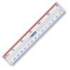 """Shatterproof Plastic Ruler, 6"""""""