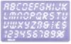 Helix Lettering Guide Set