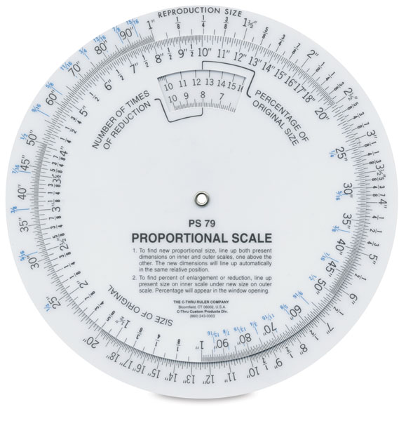 Proportional Scale, 6""