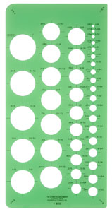 Westcott C-Thru Circle Templates