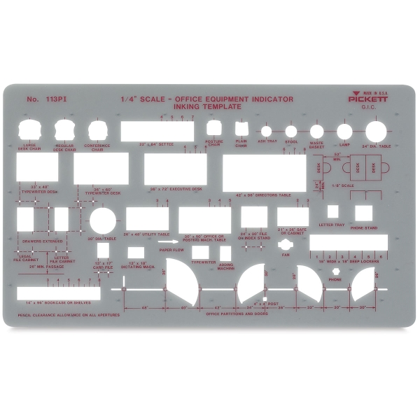 Office Equipment Template