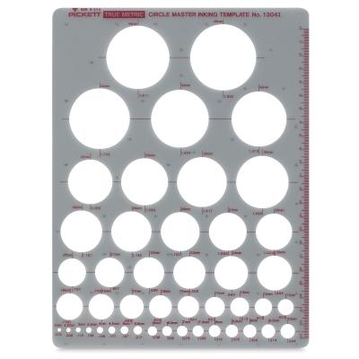 Metric Circle Master Template