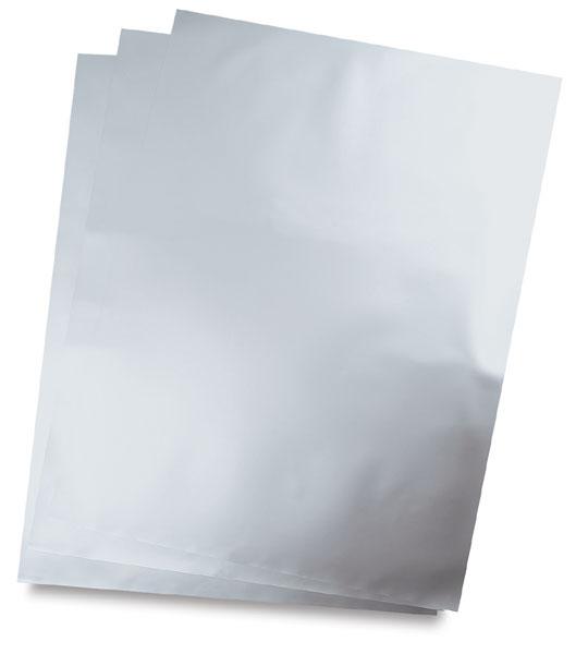 """Silver, 20"""" × 27"""""""