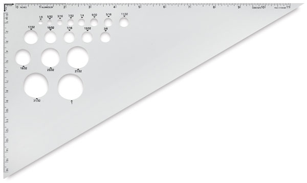"12"", 30°–60°–90°"