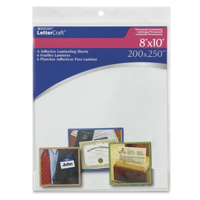 Laminating Sheets, Set of 6