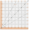 Fiskars Acrylic Square Ruler