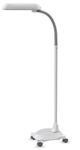 OttLite Floor Lamp with Wheelbase - BLICK art materials