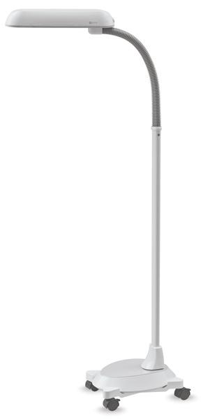 Floor Lamp with Wheelbase