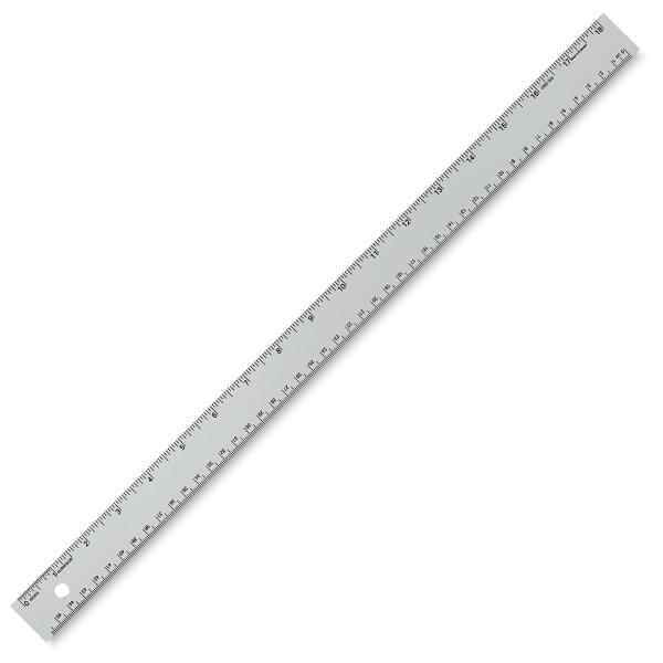 Non-Slip Straight Edge Ruler