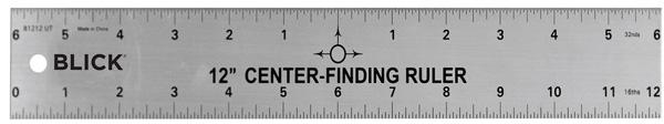 Center Finding Ruler