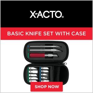X-Acto Basic Knife Set with Case