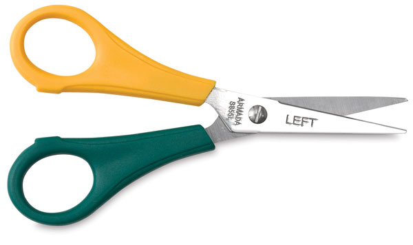 Lefty Scissors, Pointed