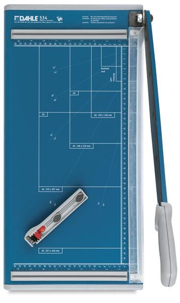 dahle professional series guillotine trimmer blick art materials