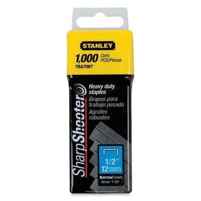 "1/2"" Staples, Box of 1000"