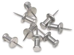 Aluminum Push Pins